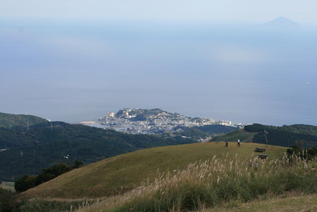 三筋山山頂から見た絶景ポイント